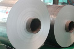 Aluminum coil for printing plate